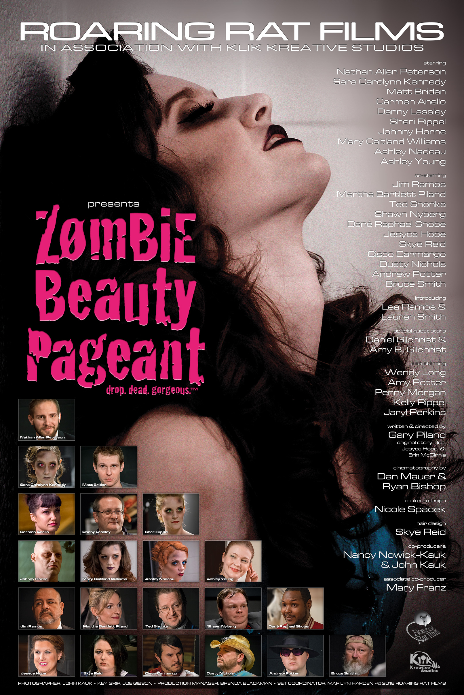 Zombie Beauty Pageant Poster