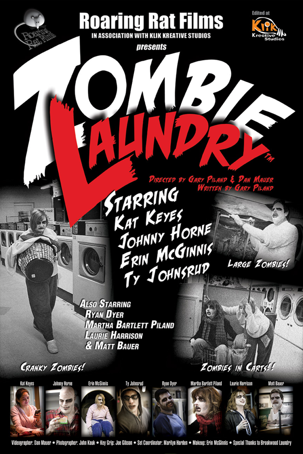 Zombie Laundry Poster